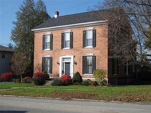 Dutch Colonial House Plans Traditional Red Brick Wall ...