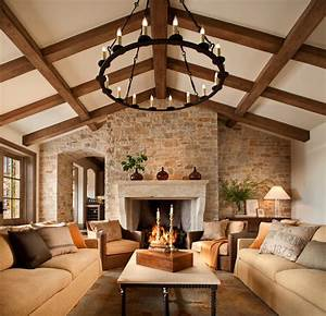 French style home - Traditional - Family Room - san