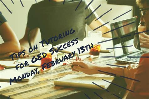 Dartmouth Learning Network » Tips On Tutoring For Ged Success  February 13  630 Pm