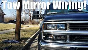 Tow Mirror Wiring 88-98 Obs Chevy  Gmc