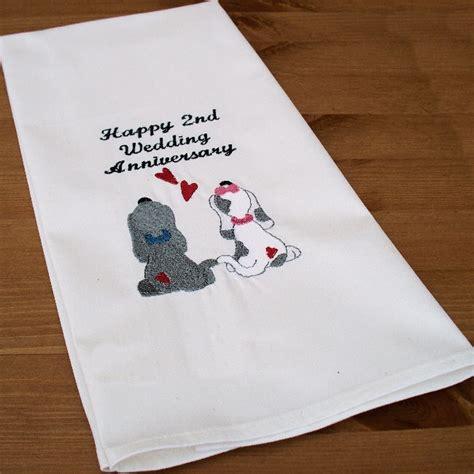 2nd anniversary gift wedding anniversary gifts wedding anniversary gifts for her cotton