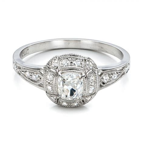 Estate Diamond Engagement Ring #100906  Seattle Bellevue. Wedding Ceremony Wedding Rings. Fate Rings. Seahorse Rings. Neelam Rings. 25th Anniversary Wedding Rings. Name Design Rings. Baby Pink Wedding Rings. Moldavite Wedding Rings