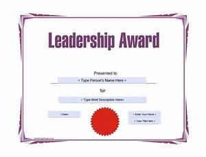 Printable Award Certificate Templates | Certificate Templates