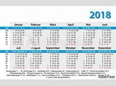 Kalender 2018 Visitenkartenformat Vorlage Buy this stock