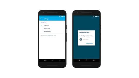 android fingerprint xero for android fingerprint authentication is here xero