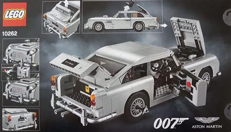 lego aston martin 10262 aston martin db5 revealed brickset lego set