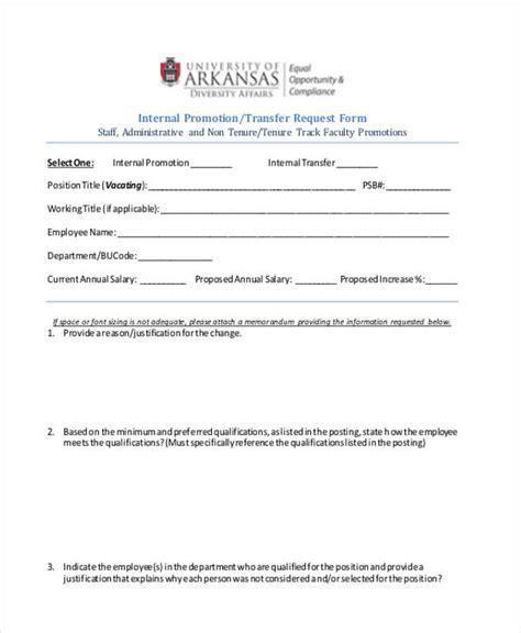 21979 sle request forms request letter for promotion pdf 28 images unique