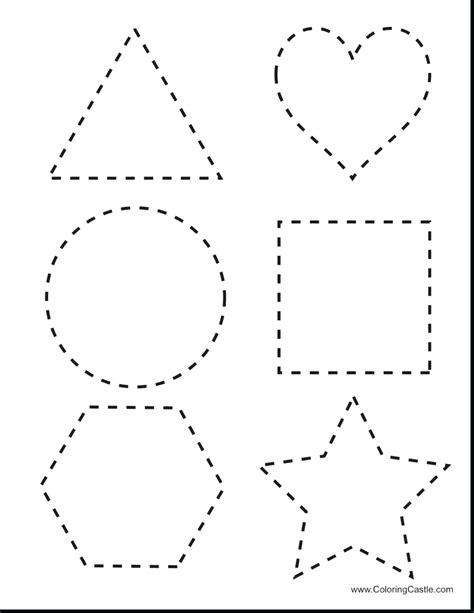 Kindergarten Identifying Shapes Worksheets Picture  Image  Free Kindergaten Math Worksheet