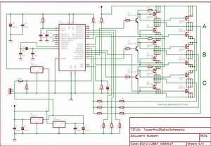Brushless Electronic Speed Control Motor Schematics