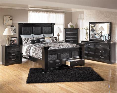 black poster bedroom set furniture cavallino bedroom set with mansion poster bed storage footboard bed only 799