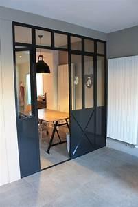 Verriere Atelier D Artiste : photo porte de cuisine de style atelier d 39 artiste ~ Nature-et-papiers.com Idées de Décoration