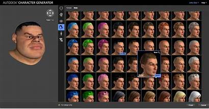 Character Generator Autodesk Cloud Based Rolls Characters