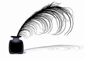 Clipart - Ink & feather