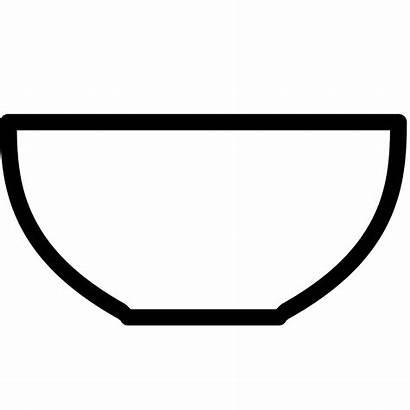 Bowl Clipart Fruit Empty Transparent Dish Webstockreview