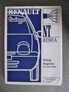 Details About Renault Twingo Wiring Diagrams Manual 2001