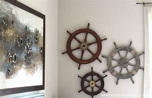 diy nautical decor that makes a splash With nautical wall decor