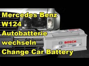 Autobatterie Wechseln Anleitung : autobatterie starterbatterie batterie wechseln ausbauen change car battery mercedes benz ~ Watch28wear.com Haus und Dekorationen