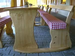 Biertischgarnitur Mit Lehne Breiter Tisch : biertischgarnituren und sitzgruppen aus massivholz ~ Eleganceandgraceweddings.com Haus und Dekorationen