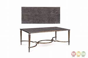 Marni antique bronze metal cocktail table with textured finish for Bronze metal coffee table
