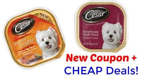 cesar dog food coupon  deals