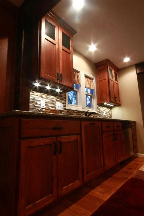 hickory craftsmanpainted island schmidt custom cabinetry