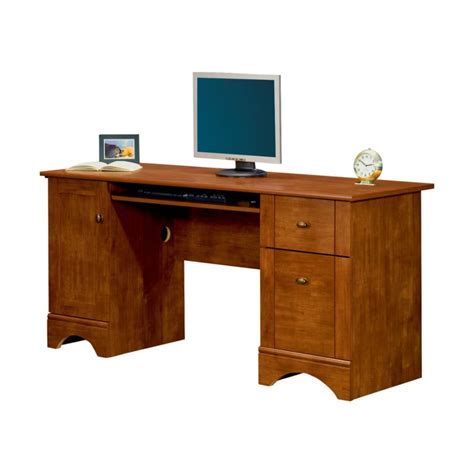 small wood desk computer desk for small spaces and efficient space