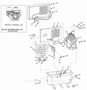Campbell Hausfeld Ce700300aj Parts Diagram For Air