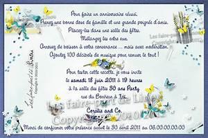 Faire Part Anniversaire 60 Ans : texte invitation anniversaire 50 ans humoristique ~ Edinachiropracticcenter.com Idées de Décoration