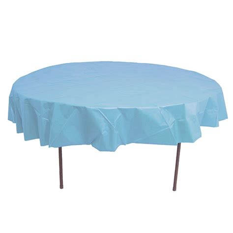 round plastic table covers celina tent 72 39 39 round table cover disposable