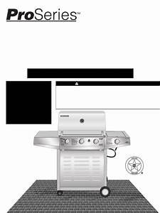 Brinkmann Gas Grill 6345 Series User Guide