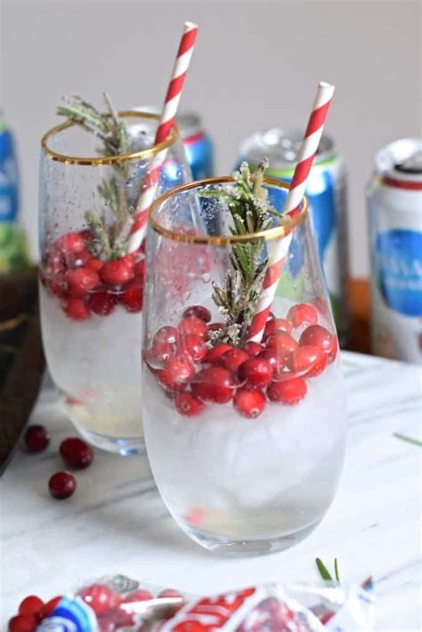 sparkling christmas cosmo cocktail 90 sparkling drink recipes for any and every or celebration the pinning