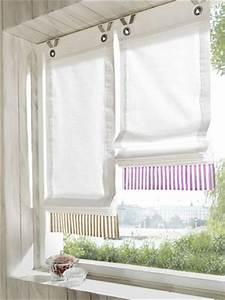 Haken Für ösen Gardinen : 1 st raffrollo von heine 100 x 140 wei beige rollo haken sen blickdicht neu ebay ~ Markanthonyermac.com Haus und Dekorationen
