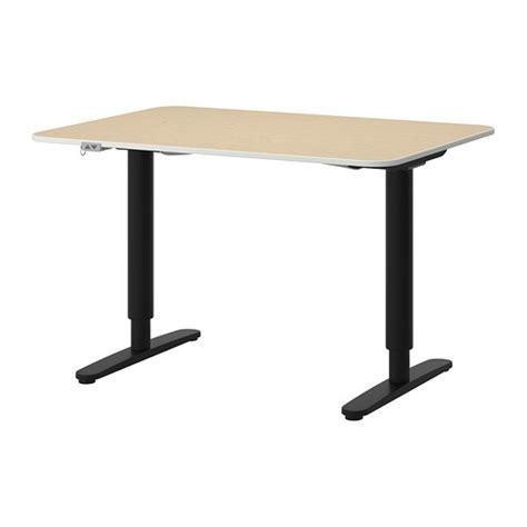 bureau ikea noir bekant bureau assis debout plaqué bouleau noir ikea
