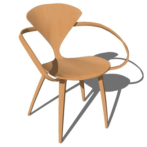 cherner side chair and armchair 3d model cherner arm side chair 3d model formfonts 3d models