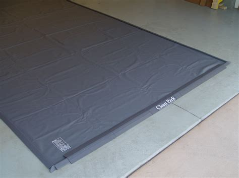 auto care heavy duty 50 mil clean park 174 garage mat