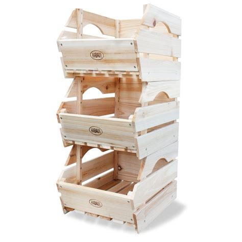 Obst Aufbewahrung Küche by Obst Kiste Holz Lebensmittel Gem 252 Se Stapel Lagerung