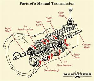 Ford Manual Transmission Diagram