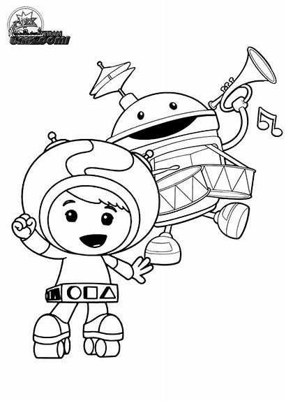 Umizoomi Team Printable Coloring Pages Printables Colouring