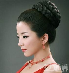 Traditional Chinese Braided updo | hairstyle and hair ...