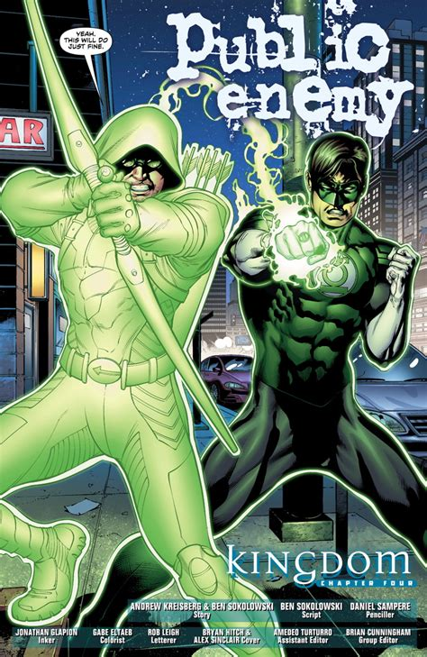 green arrow green lantern together again for the time newsarama