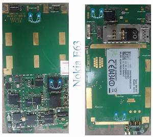 Nokia E63 Full Pcb Diagram Mother Board Layout