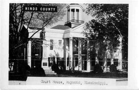 penny postcards  hinds county mississippi