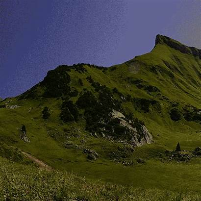 Giphy Mountain Range Sticker Mountains Gifs Tweet