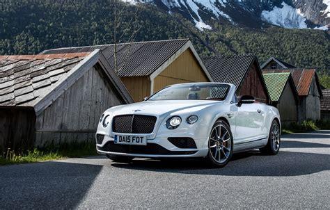 Wallpaper Bentley, Continental, Convertible, Bentley