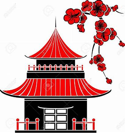 Clipart Japanese Warming Traditional Japan Stencil Asian