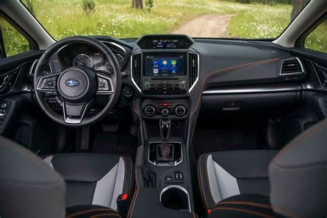 subaru crosstrek interior 2018 2018 subaru crosstrek interior view motor trend