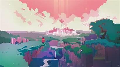 Hyper Drifter Games Pixels Pixel Desktop Wallpapers