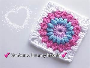 Granny Squares Häkeln : sunburst granny h keln blumen granny square h keln youtube ~ Orissabook.com Haus und Dekorationen