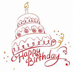 Happy Birthday Cake Vector   Free Vector Graphic Download
