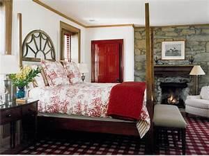 Red, Bedroom, Design, Ideas